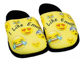 e58e53dba5dc50 Chinelo Pantufa Infantil Smile Emojis Unissex 181091