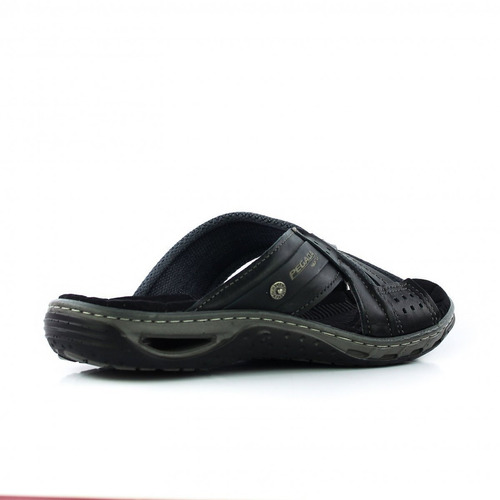 chinelo pegada 31651-06 masculino em couro - coutope