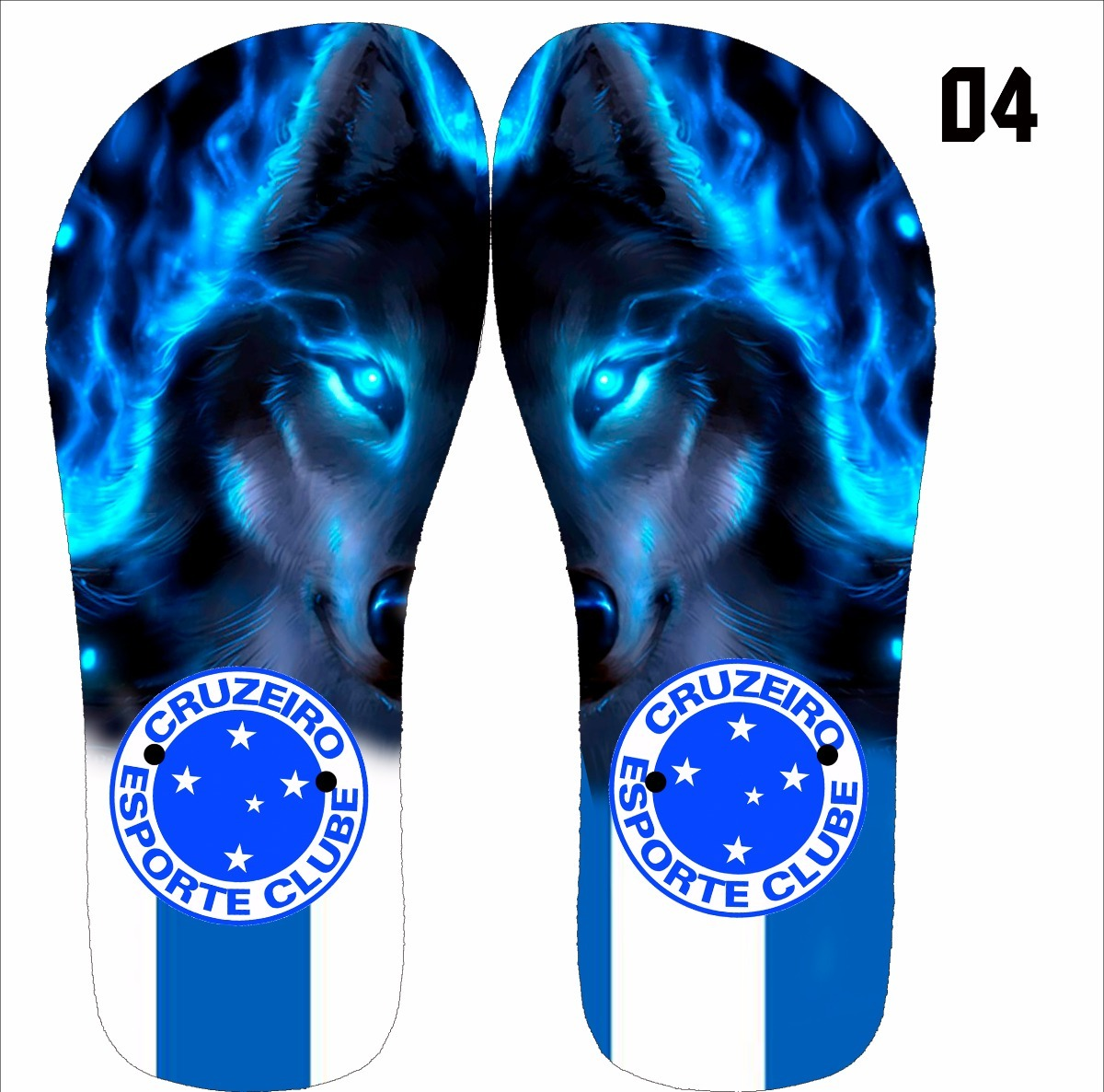 chinelo personalizado do time cruzeiro- chinelo time. Carregando zoom. e9dd87850c020