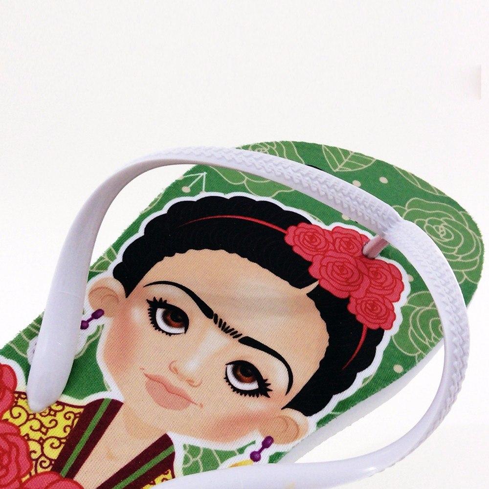 292705c4a Chinelo Personalizado Fridoca Frida Kahlo - R$ 49,90 em Mercado Livre