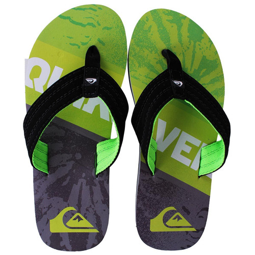 chinelo quiksilver basis division verde