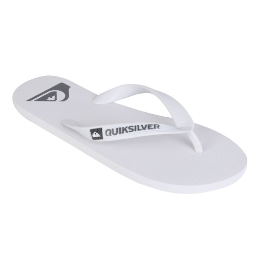 chinelo quiksilver molokai basic cat branco