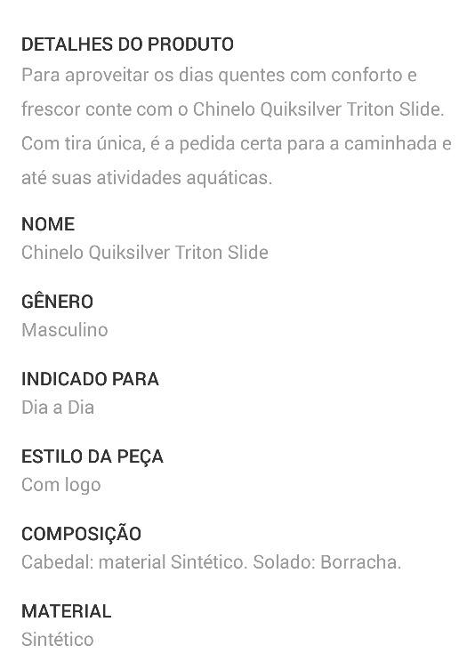 06c7237c21c04 Chinelo Quiksilver Triton Slide Size 9 Usa Original - 40 41 - R  149 ...