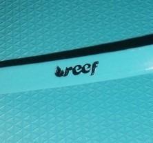 chinelo reef jet setter aqua color- reef original