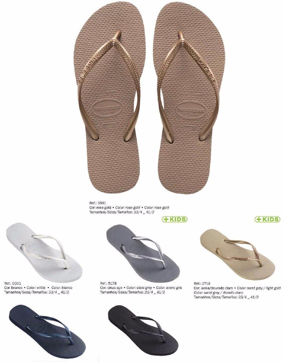 77209b306d Características. Marca Havaianas  Modelo Havaianas Slim  Gênero Feminino   Tipo de calçado Chinelos ...