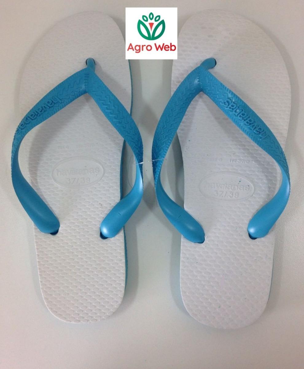 2e56566d54c03 chinelo sandalia havaianas tradicional azul claro e branco. Carregando zoom.
