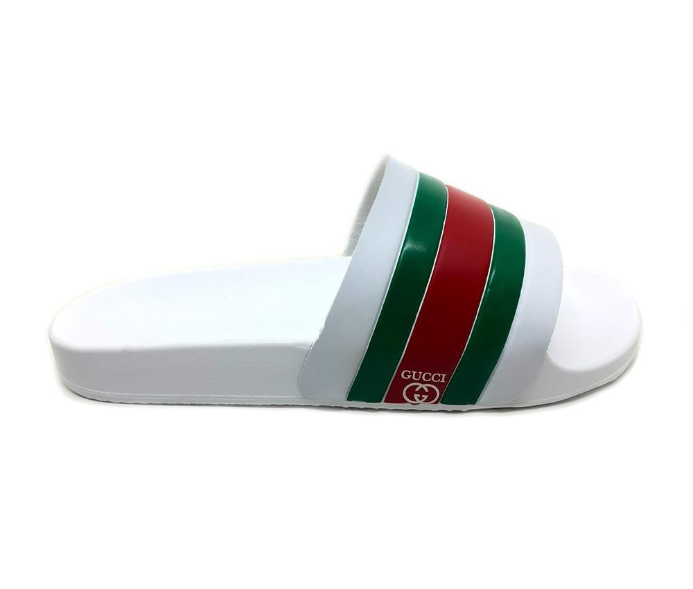 f93486976a3ff Chinelo Sandalia Gucci Masculino E Feminino - R  57,90 em Mercado Livre