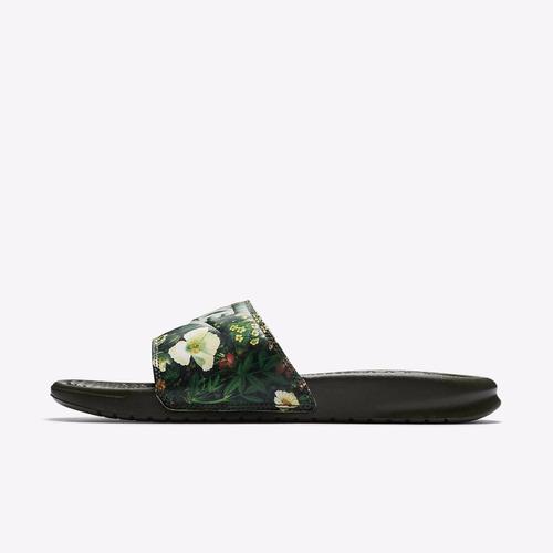 chinelo sandália nike benassi jdi print 618919 300 original