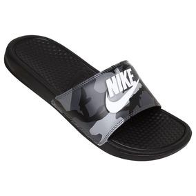 lowest price 54784 d15ad Chinelos Nike Menino - Sandálias e Chinelos Chinelos para Masculino  Cinza-escuro com o Melhores Preços no Mercado Livre Brasil