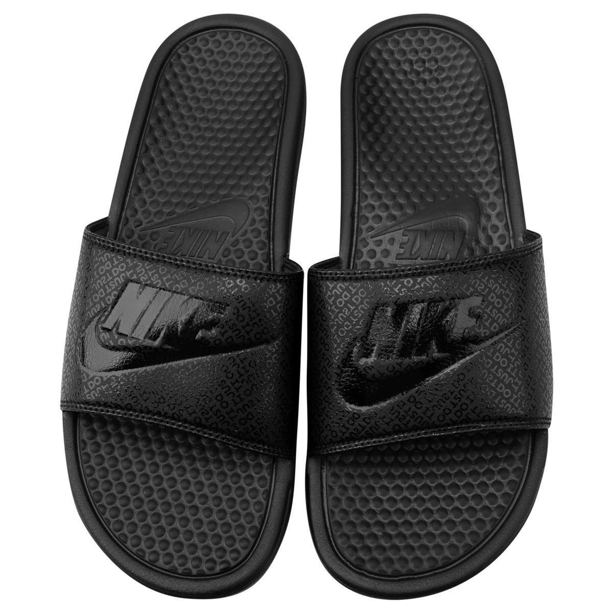23346fe585 chinelo sandália nike benassi just do it original + nota f. Carregando zoom.