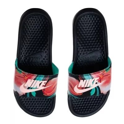 abb957ac07 Chinelo Sandália Nike Benassi Just Do It Print Original - R  120