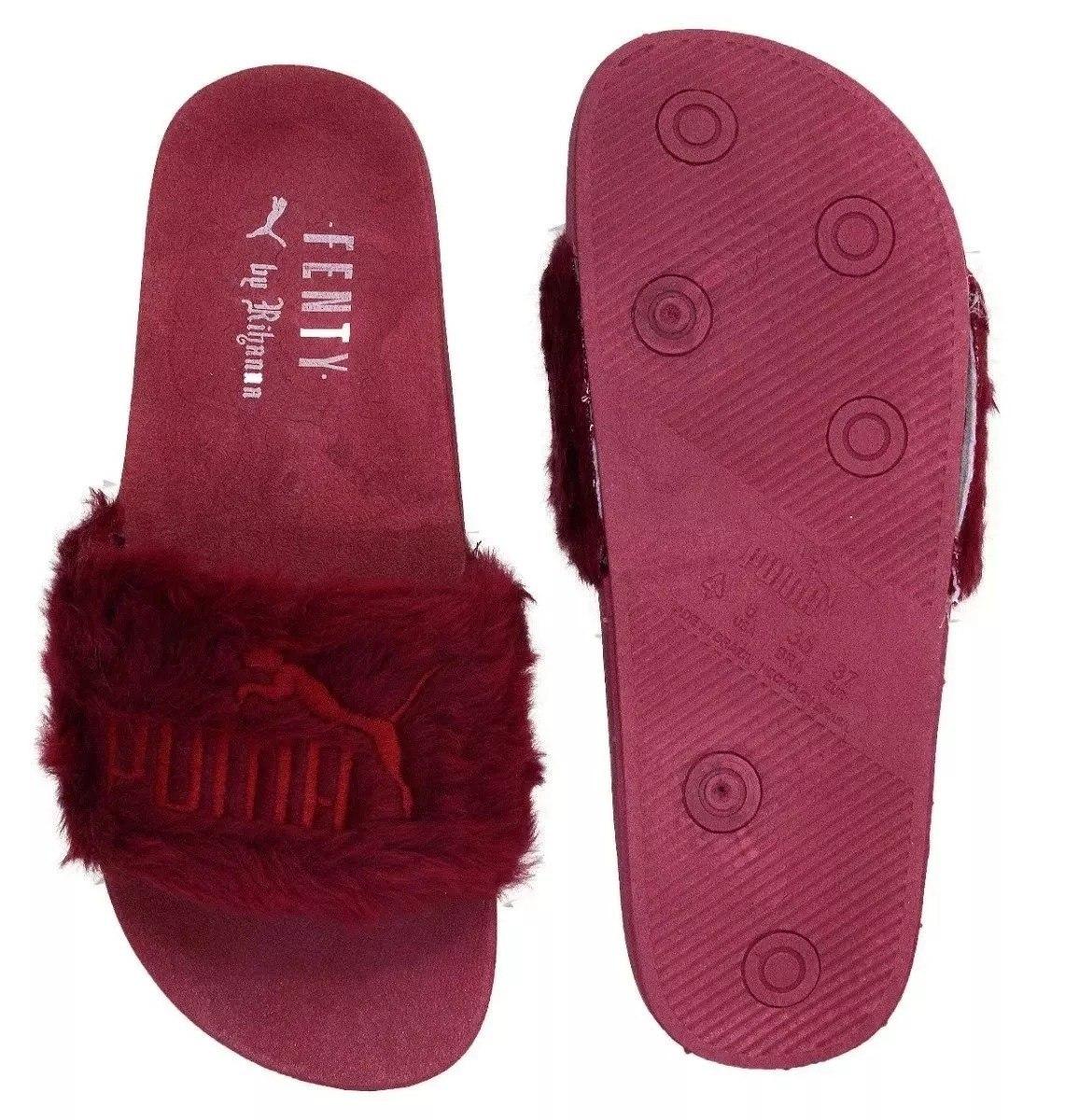 f7f61420f0058 chinelo sandália puma fenty slide pelinho lançamento. Carregando zoom.