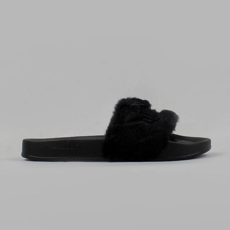 97f0ba2ee65 chinelo sandália puma rihanna feminino pelinho veludo casual. Carregando  zoom.