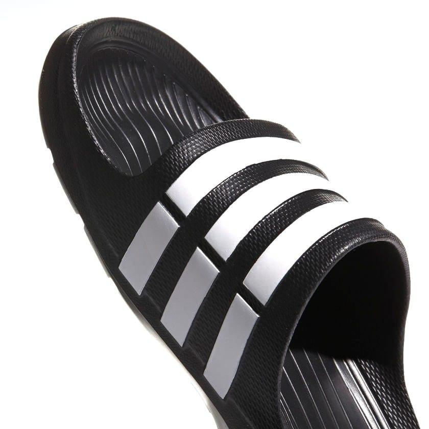 1adcfb361e8b chinelo slide adidas duramo preto e branco original. Carregando zoom.