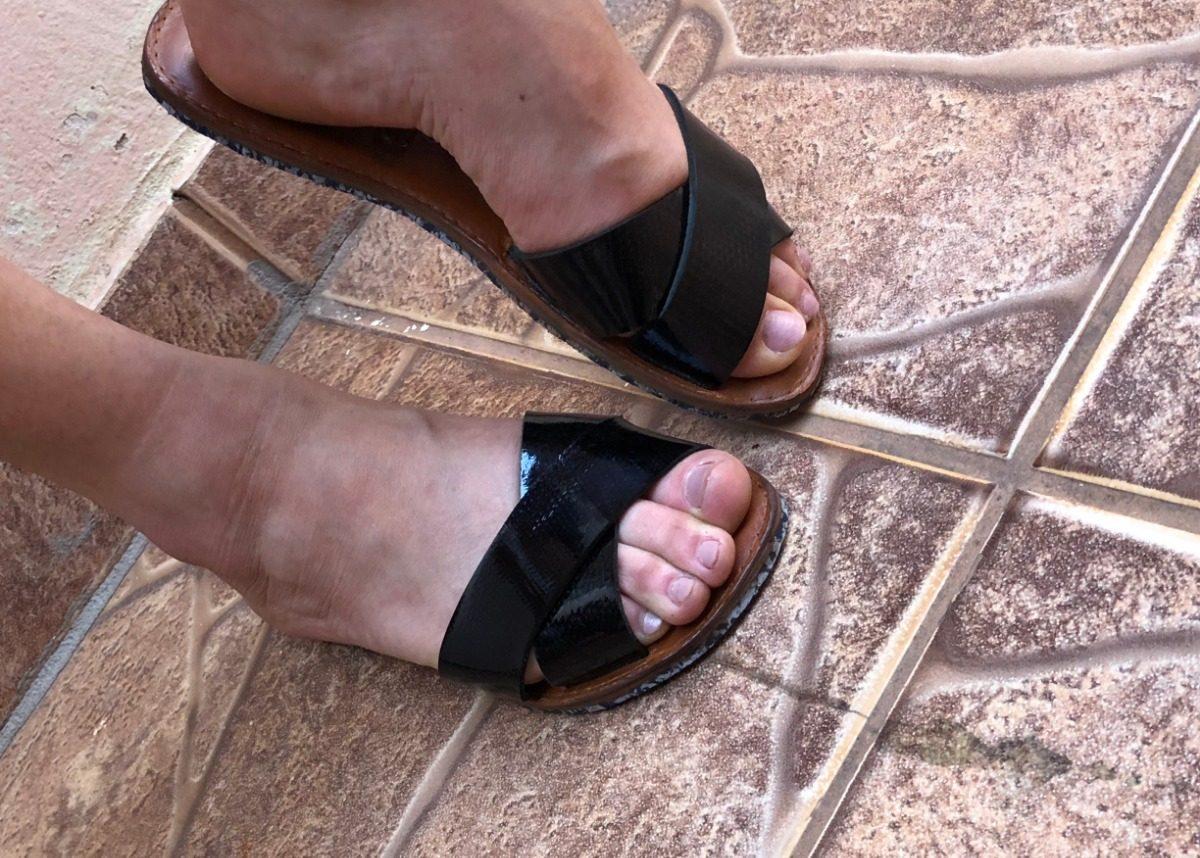 3c8b37603f chinelo slide beach feminino sandalia rasteira couro legitim. Carregando  zoom.