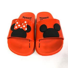1a8cf454f1b1e9 Chinelo Slide Disney Minnie Menina Infantil Garota Sandalia