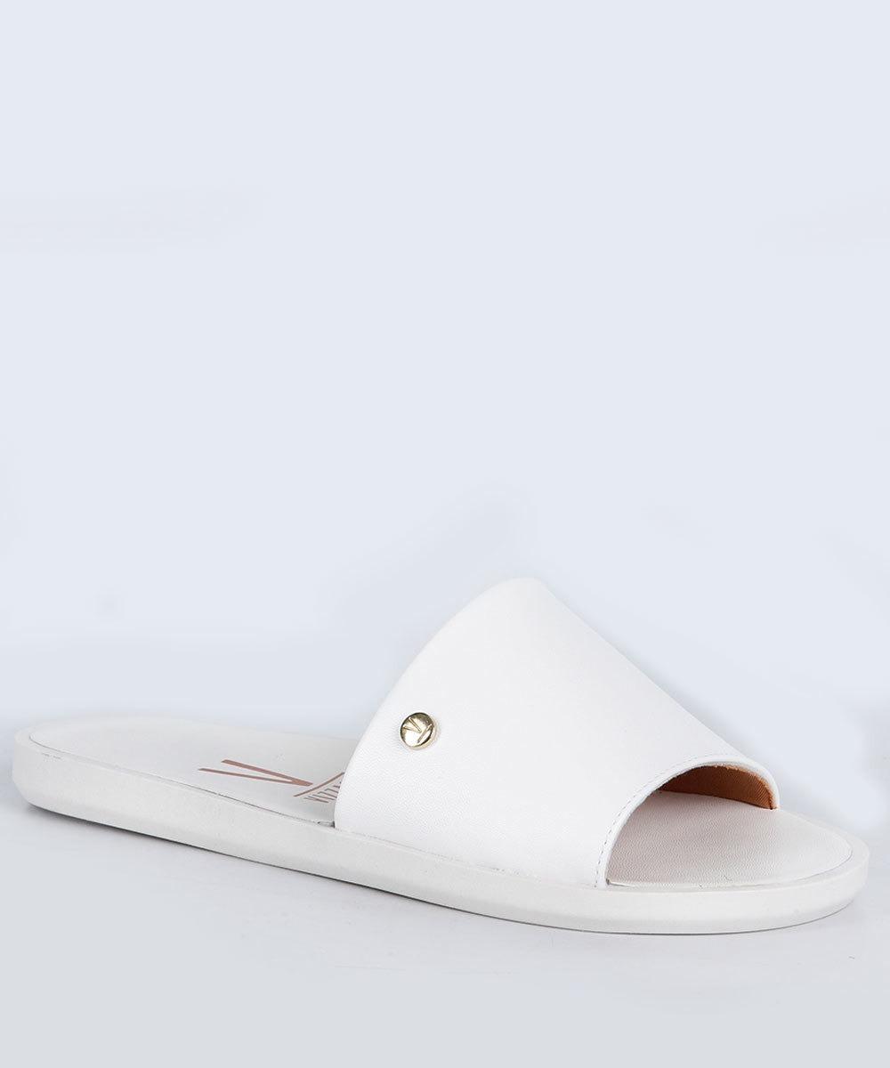 a17a9680fa chinelo slide feminino flat vizzano pelica branco 6363105. Carregando zoom.