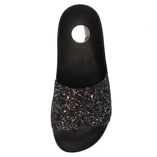 chinelo slide feminino vizzano - preto