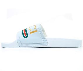 33c4e5304e6 Chinelo Gucci Slide - Chinelos no Mercado Livre Brasil