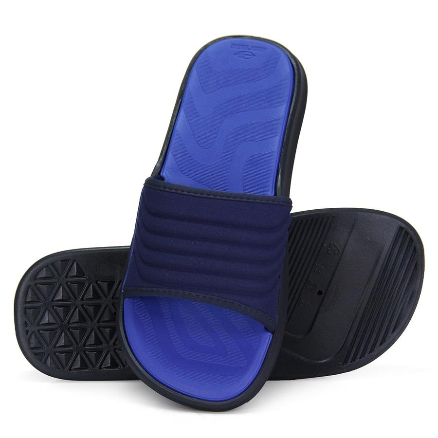 Chinelo Slide Masculino Mormaii - Azul - R  69,99 em Mercado Livre 064fa6aa31
