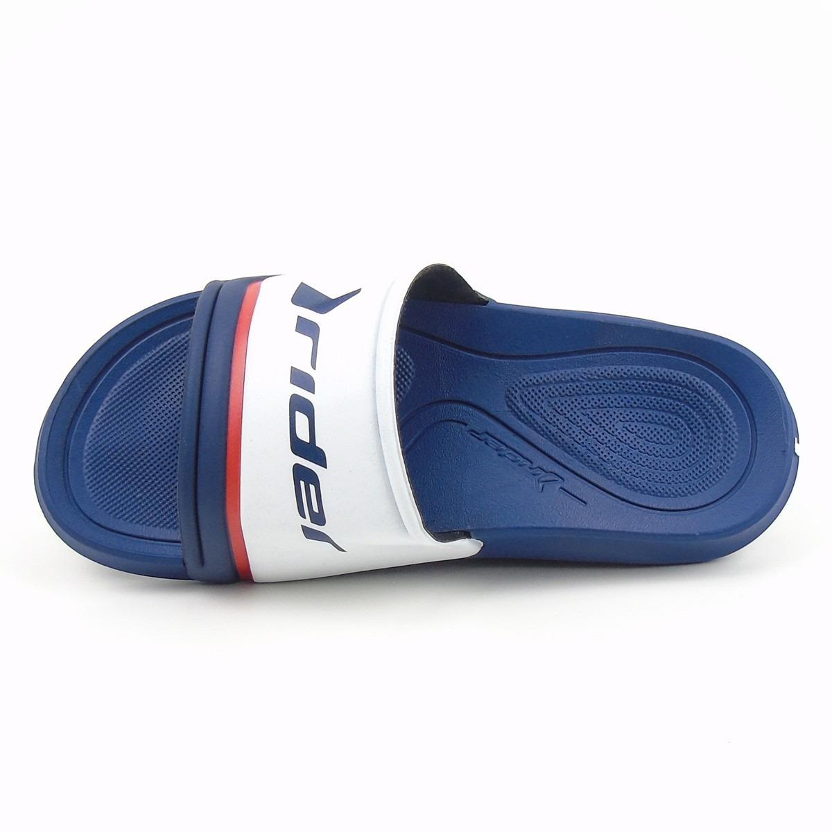 6de458950 chinelo slide masculino rider 11307 azul macio confortavel. Carregando zoom.