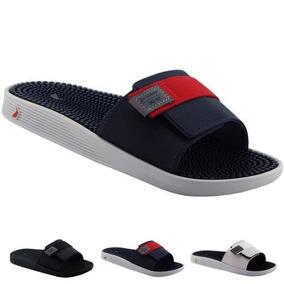 5458e1943767e Fabrica Chinelos Personalizados Barato - Sandálias e Chinelos Masculinas  Chinelos Azul com o Melhores Preços no Mercado Livre Brasil
