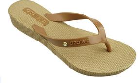 29b1e4c67c Chinelo Azaleia Tropical - Sapatos Preto no Mercado Livre Brasil