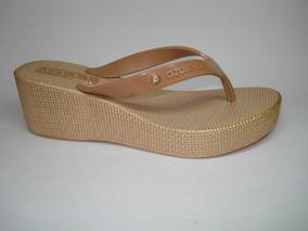 f98e45857 Chinelo Anabela Azaleia - Sapatos com o Melhores Preços no Mercado Livre  Brasil