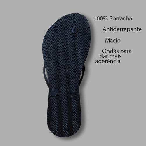 chinelos de borracha  feminino slim original tipo havaiana