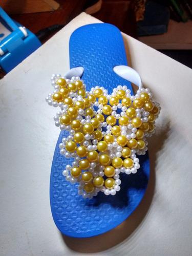 chinelos decorados ...fique à vontade com estilo!!!