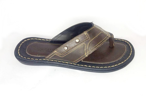 chinelos masculinos 100% couro direto da fabrica 12x #2l2v