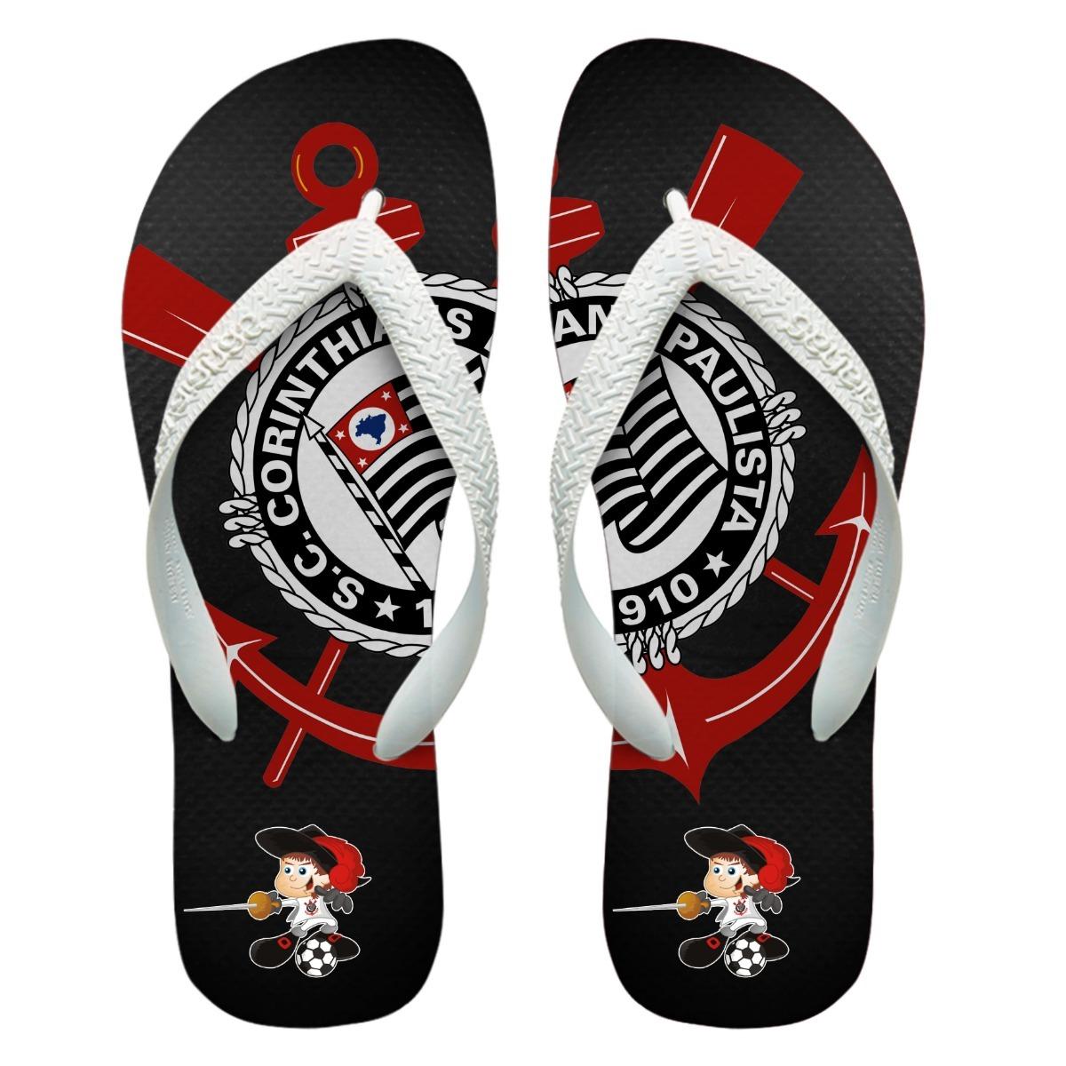 a08d0e955a chinelos personalizados havaianas corinthians  7 . Carregando zoom.