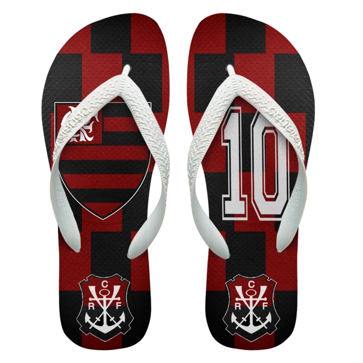 868a847d47660 Chinelos Personalizados Havaianas Flamengo  5  - R  45