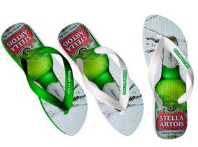 72a1ab70d6c4e7 Chinelos Personalizados, Heineken, Budweiser, Absolut, Porch