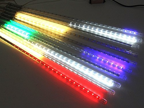 chinly impermeable led lluvia de meteoros luz de lluvia 50c