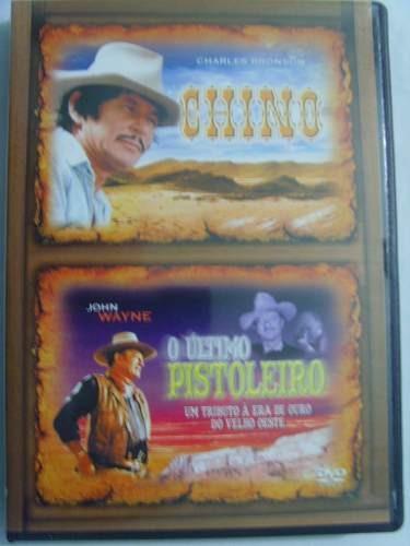 chino / o último pistoleiro 2 filmes em 1 dvd