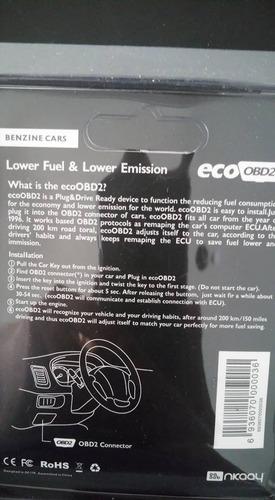 chip ahorro gasolina eco-obd2 p/ todos vehículos envio grati
