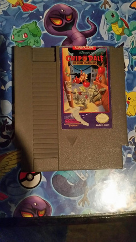 chip and dale nes