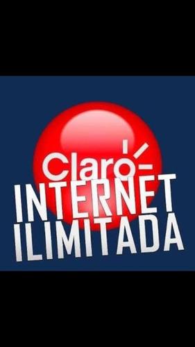 chip claro internet ilimitada pra celular modem e roteador