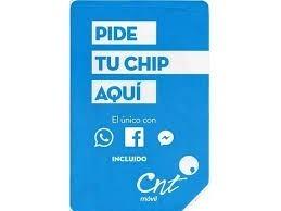 chip cnt credito envio gratis* envios nacionales