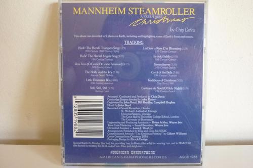 chip david  mannheim steamroller musica navideña navidad