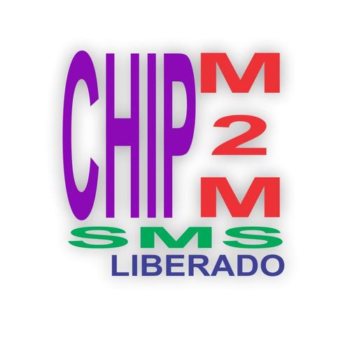 chip de dados m2m vivo para rastreadores (valor mensal)
