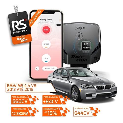 chip de potencia bmw m5 4.4 v8 racechip rs v2 + app