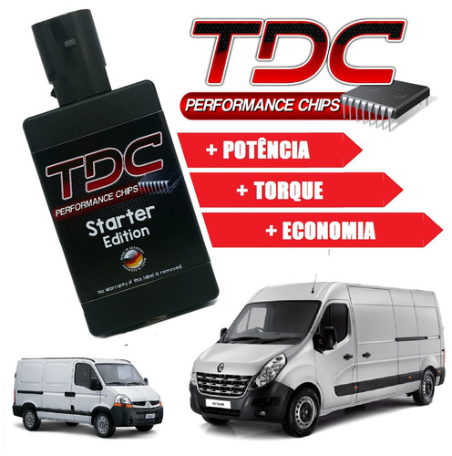 chip de potencia ford transit  master iveco daily tdc diesel