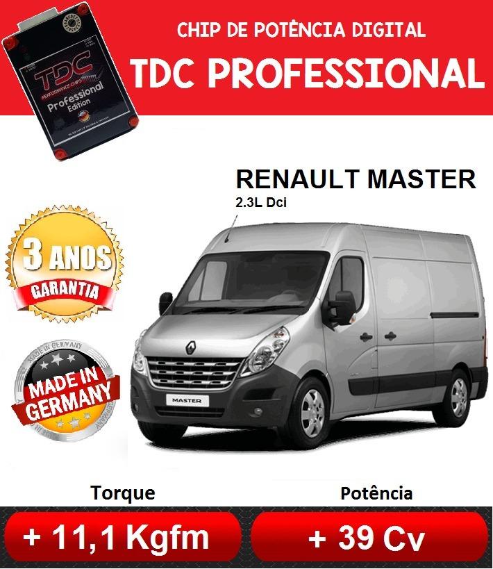chip de potencia renault master 2.5 2.3 dci diesel tdc - r$ 1.498,98