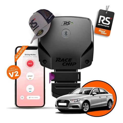 chip de potência audi a3 sedan racechip rs v2 + aplicativo
