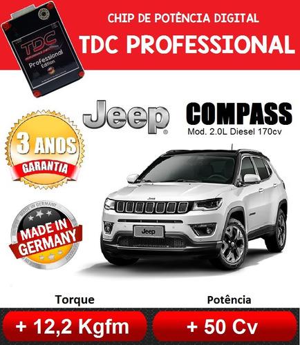 chip de potência jeep compass 2.0l diesel 170cv 2017 diante