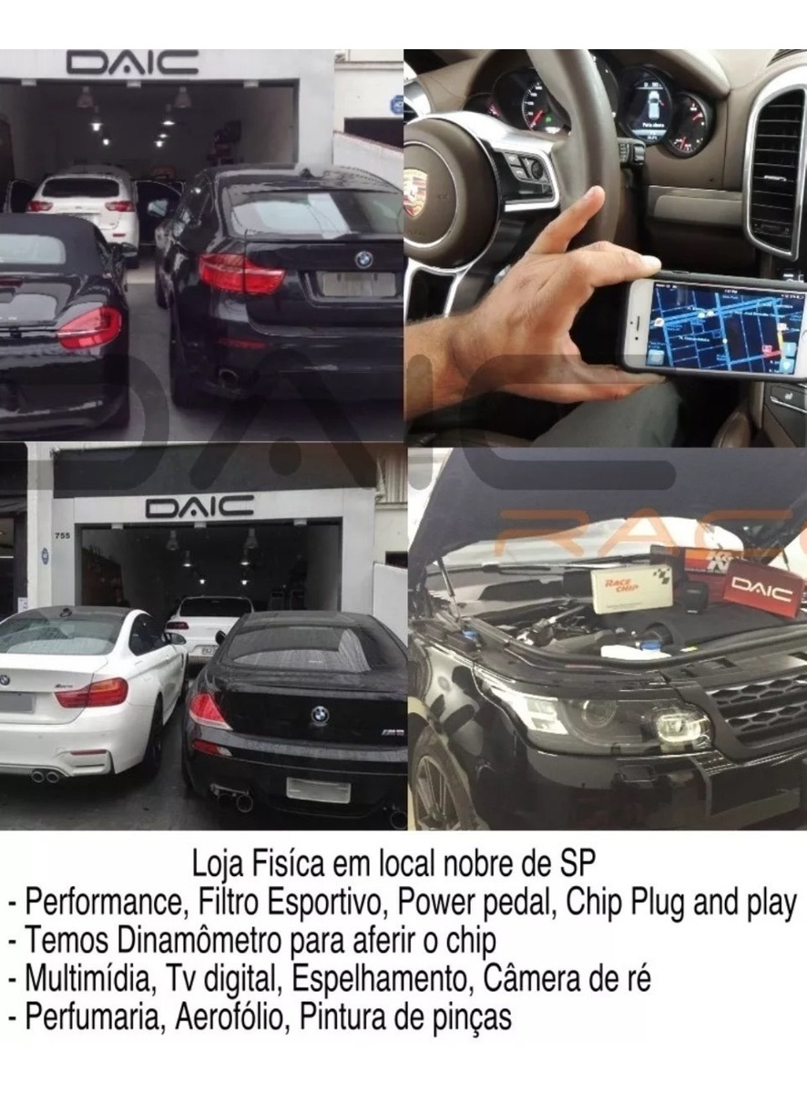 Chip De Potência Racechip Gts Black Mercedes C300 W205 +66cv