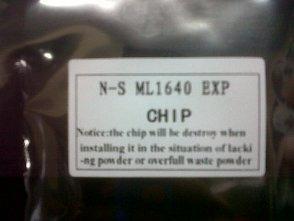 chip de toner 108 1640/2240