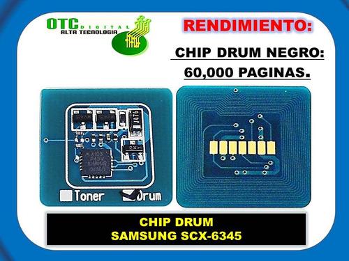 chip drum samsung scx-6345